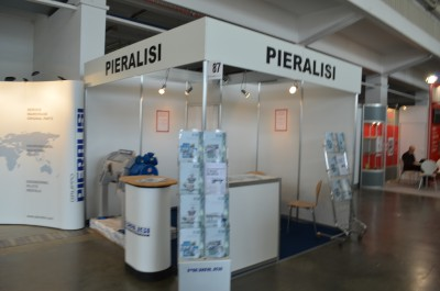 Company stand PIERALISI BENELUX B.V. on trade show POLAGRA-TECH 2015
