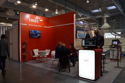 Company stand Imos AG  on trade show DREMA 2015