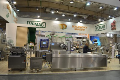 Company stand VEMAG POLSKA on trade show POLAGRA-TECH 2015