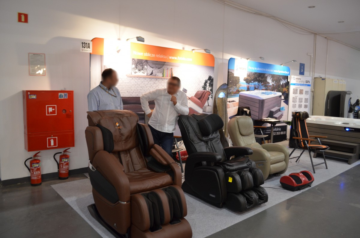 Company stand Pro-Wellness on trade show POLAGRA-TECH 2015