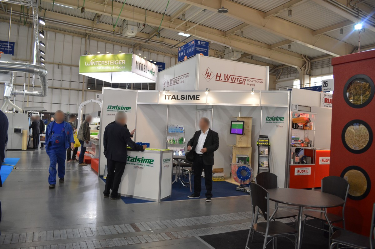 Company stand ITALSIME SRL on trade show DREMA 2015