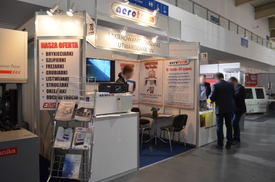 Company stand AEROTERM a.s. on trade show DREMA 2015