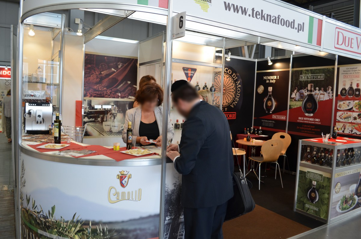 Company stand TEKNA on trade show POLAGRA - FOOD 2015