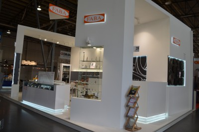 Company stand FABA S.A.  on trade show DREMA 2015