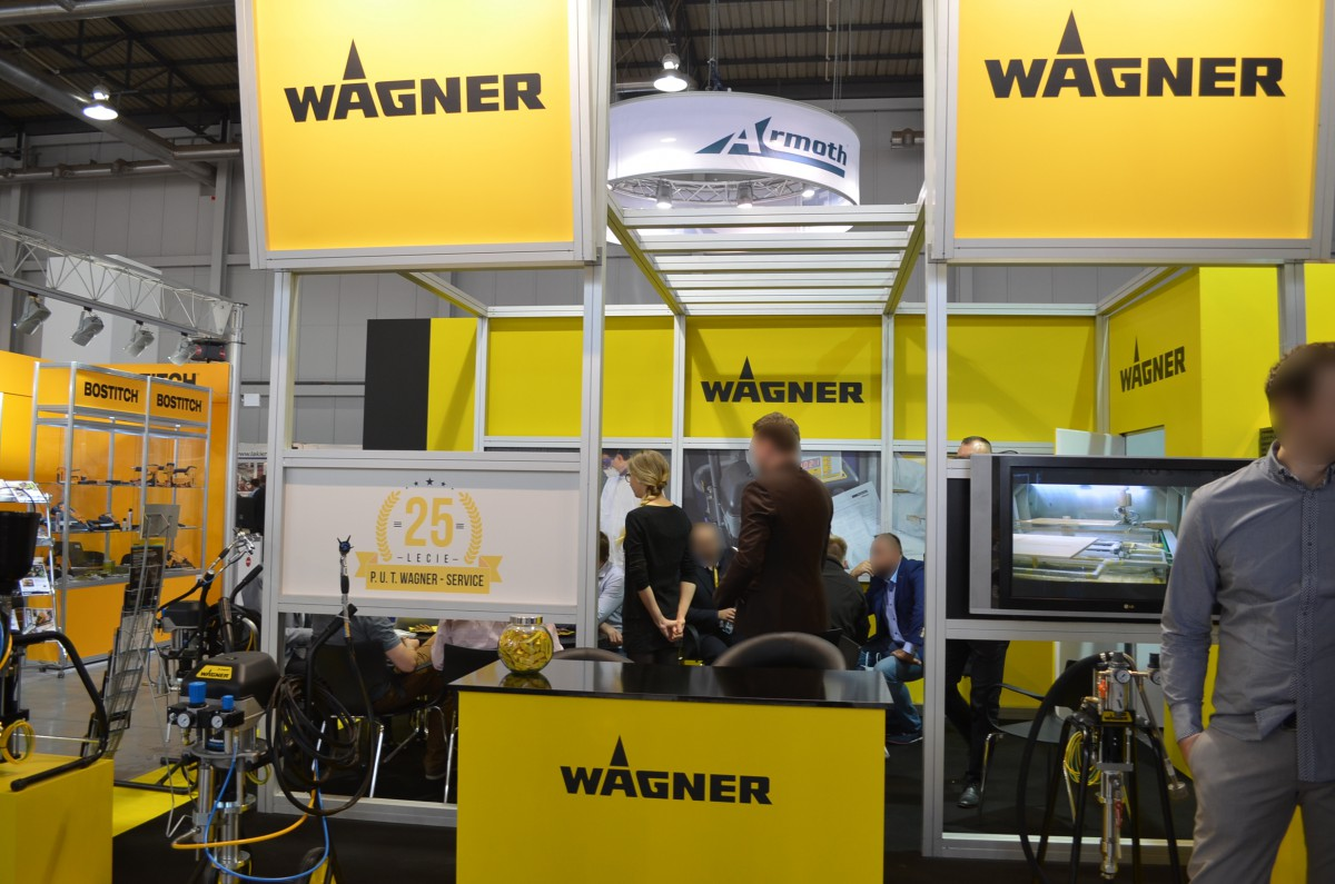Company stand WAGNER-SERVICE on trade show DREMA 2015