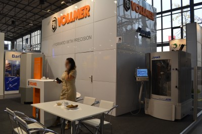 Company stand VOLLMER Polska Sp. z o.o. on trade show DREMA 2015