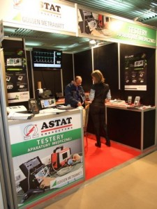 Company stand ASTAT Sp. z o.o. on trade show SALMED 2012