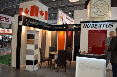 Company stand HUBERTUS MEBLE on trade show FURNICA 2015