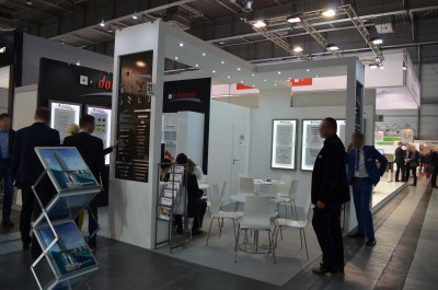 Company stand DOMINO Sp.j. on trade show FURNICA 2015