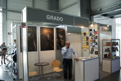 Company stand GRADO G.R. Dominiak on trade show REKLAMA360 2015