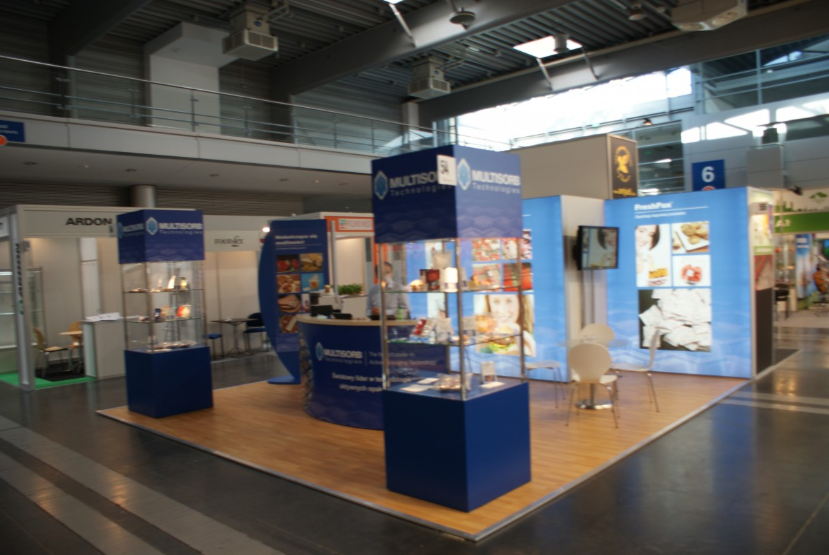 Company stand MULTISORB TECHNOLOGIES on trade show POLAGRA - FOOD 2015