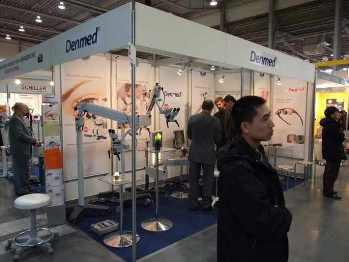 Company stand DENMED on trade show SALMED 2012