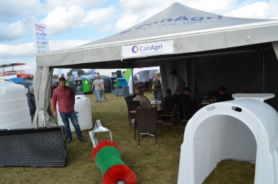 Company stand CanAgri Sp. z o.o. on trade show AGROSHOW 2015