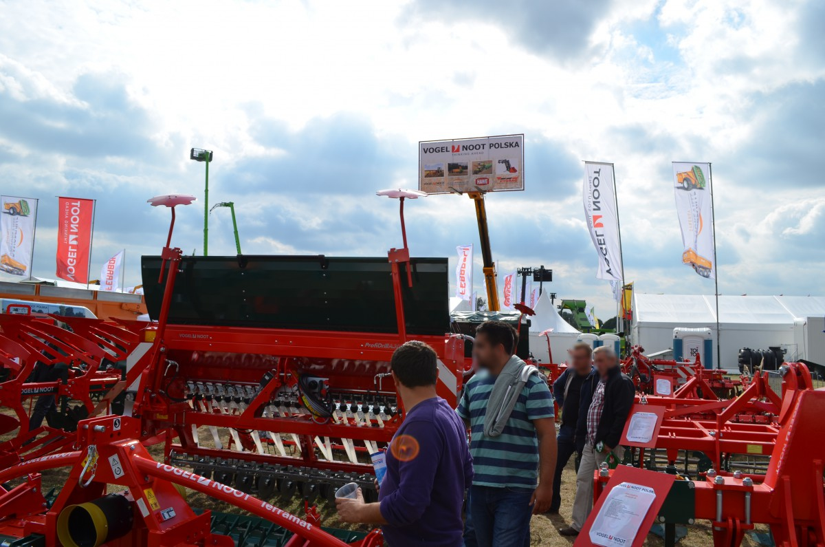 Company stand VOGEL & NOOT POLSKA on trade show AGROSHOW 2015