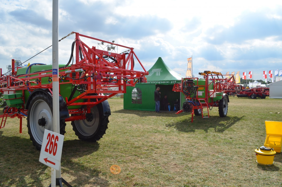 Company stand STANIMPEX Maciej Packiewicz on trade show AGROSHOW 2015