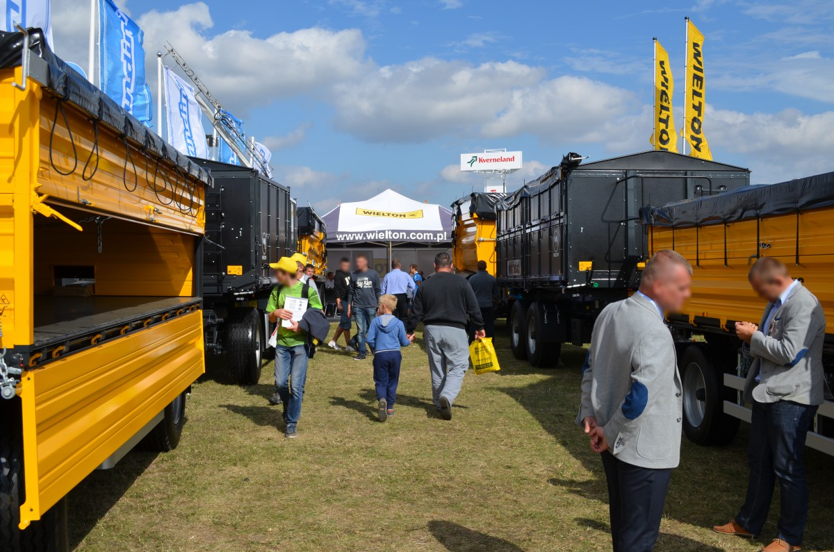 Company stand WIELTON S.A. on trade show AGROSHOW 2015