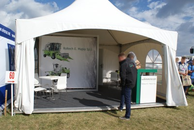 Company stand WINTERSTEIGER AG on trade show AGROSHOW 2015