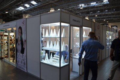 Company stand Art-S on trade show GOLD EXPO 2015