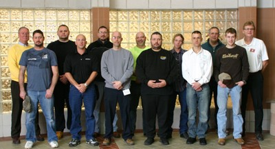 Eleven Students Graduate from Concrete Masonry Technology