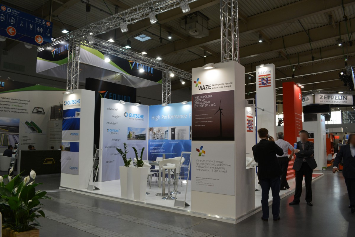 Company stand HESSEN TRADE & INVEST GmbH on trade show POL-EKO-SYSTEM 2015