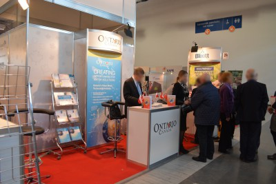 Company stand ONTARIO MINISTRY OF ECONOMIC DEVELOPMENT, TRADE AND EMPLOYMENT - MINISTRY OF RESEARCH AND INNOVATION on trade show POL-EKO-SYSTEM 2015