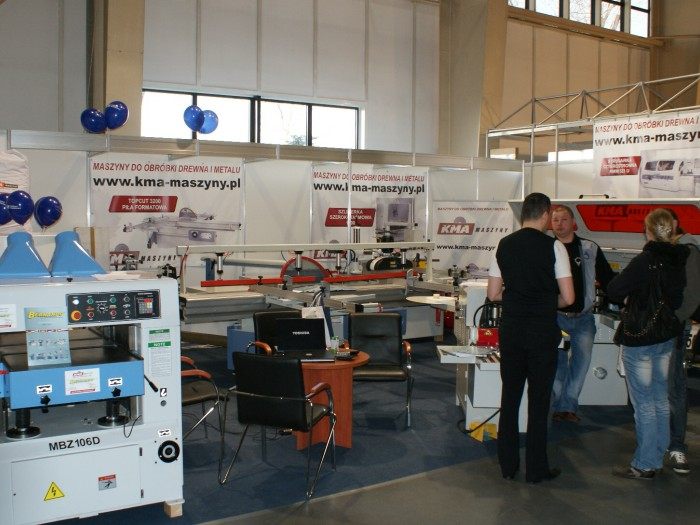 Company stand KMA GROUP Sp. z o.o. on trade show DREMA 2011