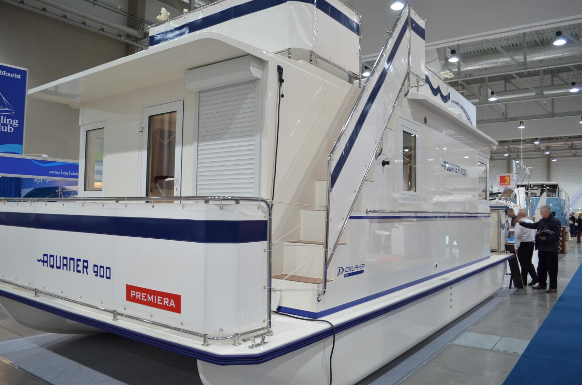 Company stand DELPHIA YACHTS KOT sp. j. on trade show Boatshow Poland 2015