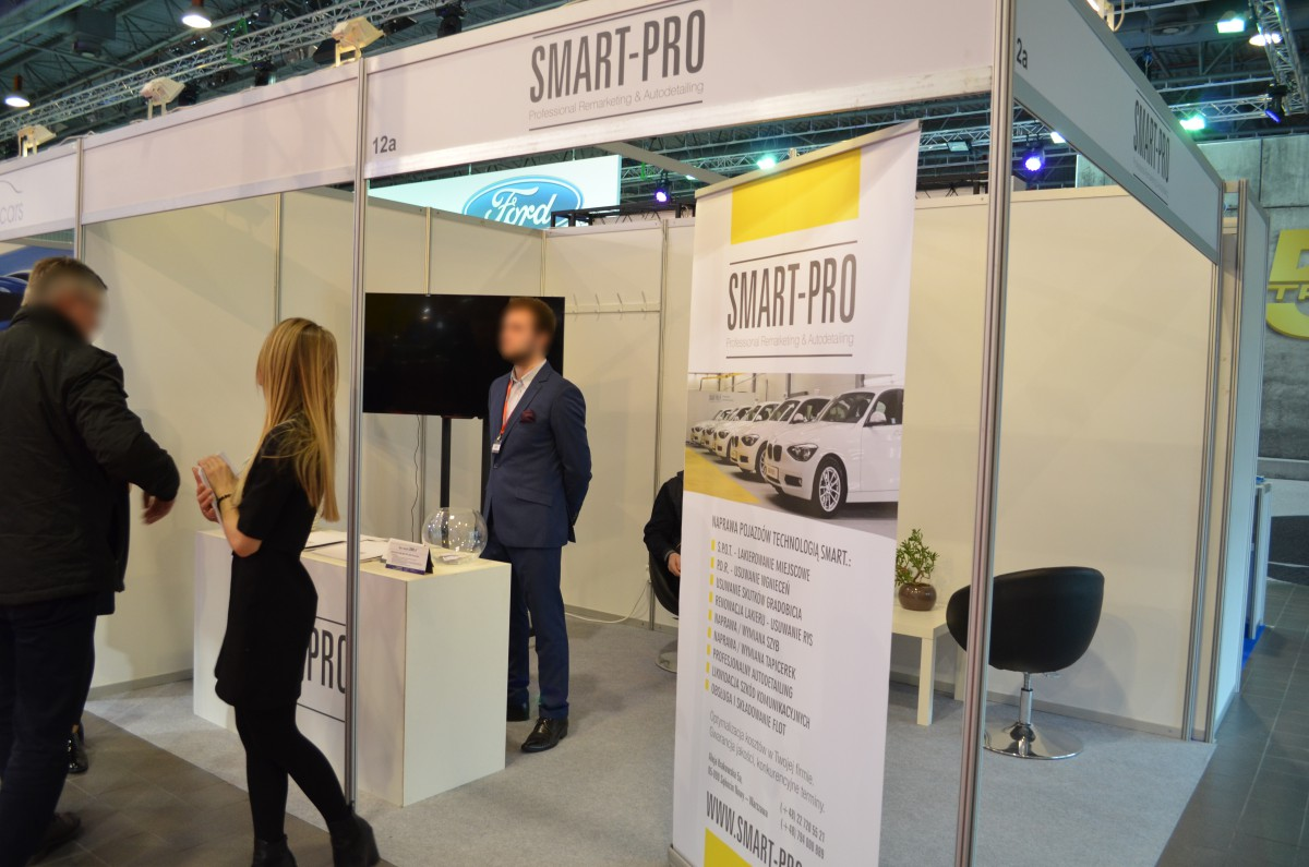 Company stand SMART PRO on trade show Fleet Market 2015