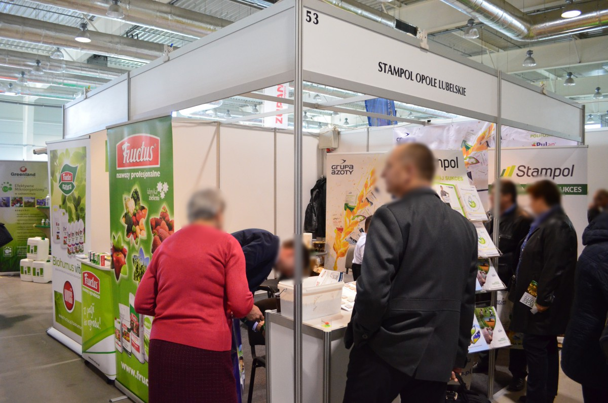Company stand Stampol on trade show VEGE FRUIT EXPO 2015