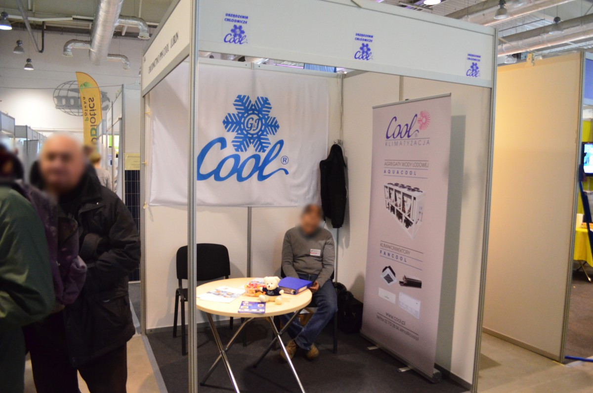 Company stand Cool on trade show VEGE FRUIT EXPO 2015