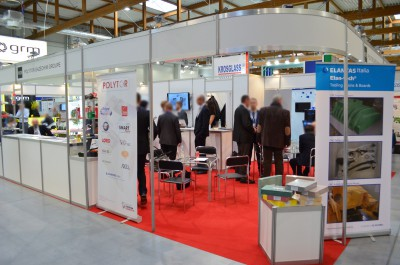 Company stand LORD on trade show KOMPOZYT-EXPO 2015