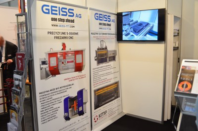Company stand HUFSCHMIED Zerspanungssysteme GmbH   on trade show KOMPOZYT-EXPO 2015