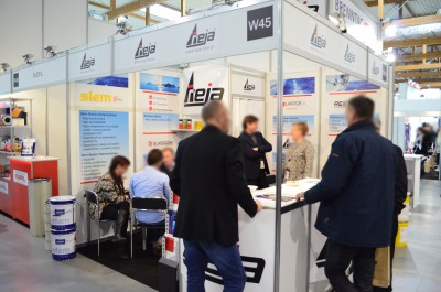 Company stand REICHHOLD CZ s.r.o. on trade show KOMPOZYT-EXPO 2015