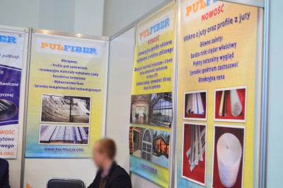 Company stand MINBUD on trade show KOMPOZYT-EXPO 2015