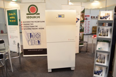 Company stand IZOLACJE Sp. z o.o. Sp.k. on trade show 4INSULATION &  EFE 2015