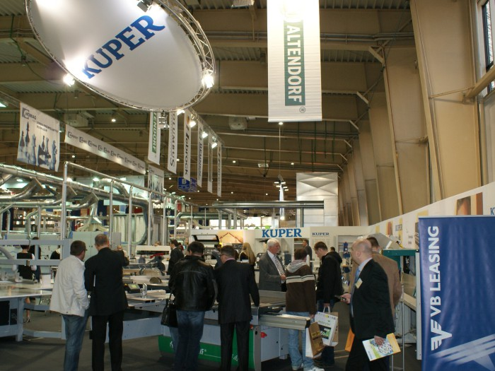 Company stand KUPER on trade show DREMA 2011
