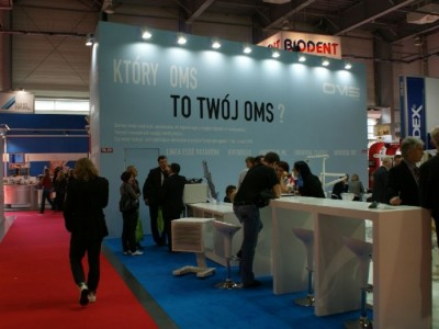 Company stand OMS Polska Ltd. Sp. z o.o. on trade show CEDE 2010
