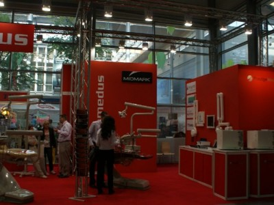 Company stand PROMEDUS Sp. z o.o. on trade show CEDE 2010