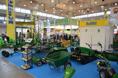 Company stand KELLFRI Sp. z o.o. on trade show POLAGRA-PREMIERY 2016