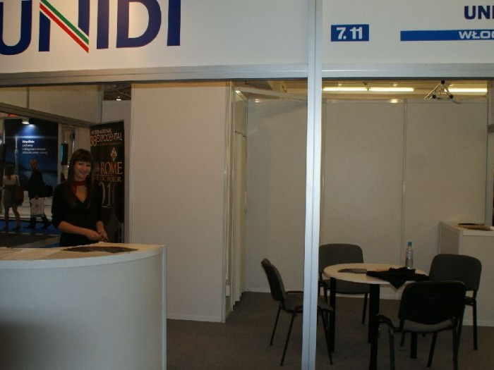 Company stand UNIDI on trade show CEDE 2010