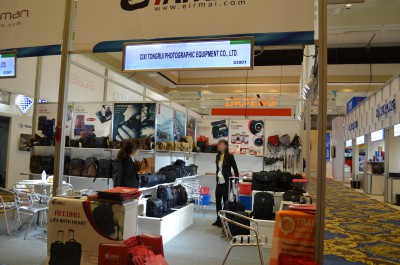 Company stand Cixi Tongrui Photographic Equipment Co., Ltd. on trade show INTERNATIONAL CES 2016
