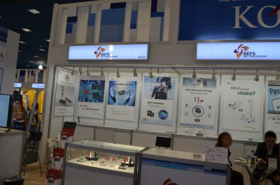 Company stand DAZA Electronics Company on trade show INTERNATIONAL CES 2016