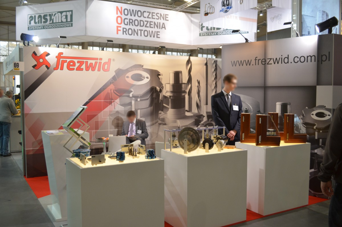 Company stand FREZWID Sp.j. on trade show BUDMA 2016