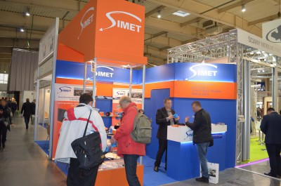 Company stand SIMET S.A. on trade show BUDMA 2016