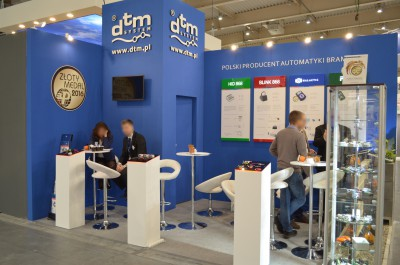 Company stand DTM SYSTEM  on trade show BUDMA 2016
