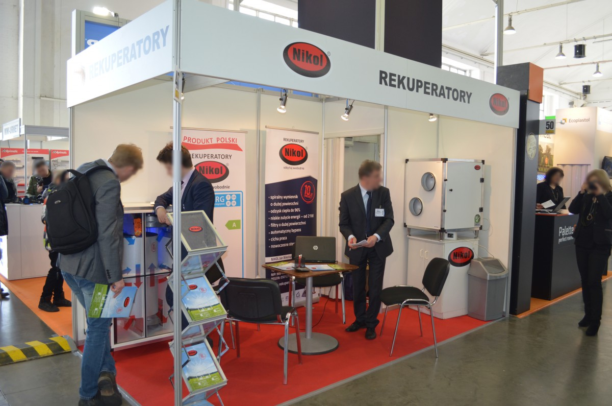 Company stand NIKOL Jan Nikołajuk on trade show BUDMA 2016