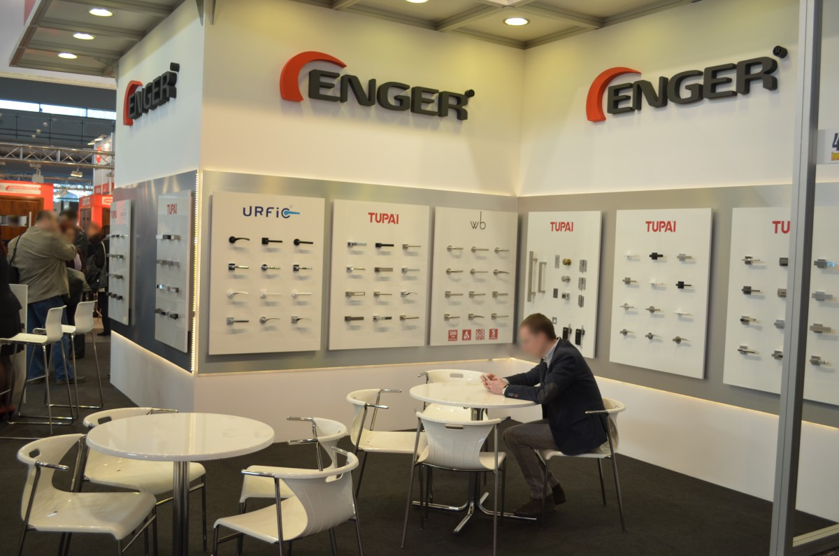 Company stand ENGER Robert Kwiecień on trade show BUDMA 2016