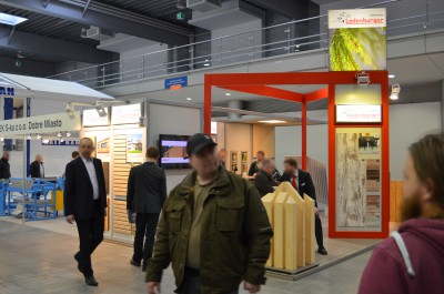 Company stand HOLZWERKE LADENBURGER GmbH & Co. KG on trade show BUDMA 2016