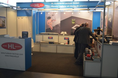 Company stand HL HUTTERER & LECHNER GmbH on trade show BUDMA 2016