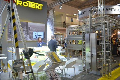 Company stand PROTEKT on trade show BUDMA 2016